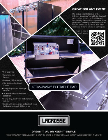 StowAway Portable Bar Brochure